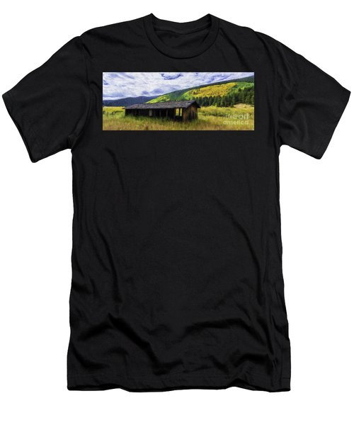 Gold Country  Men's T-Shirt (Athletic Fit)