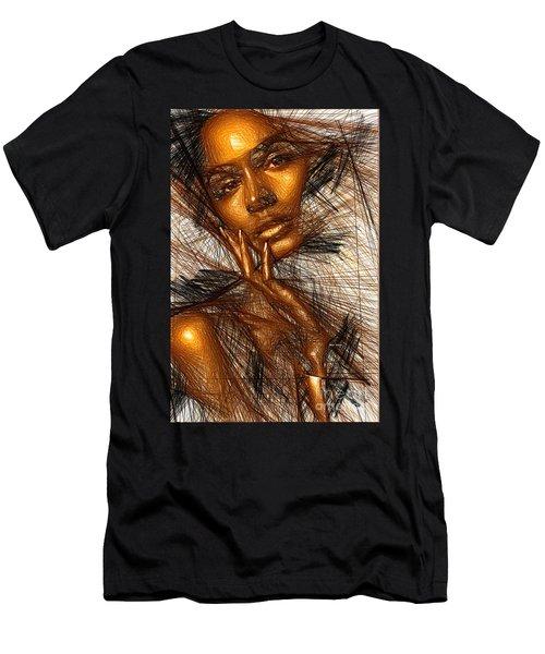 Gold Fingers Men's T-Shirt (Athletic Fit)