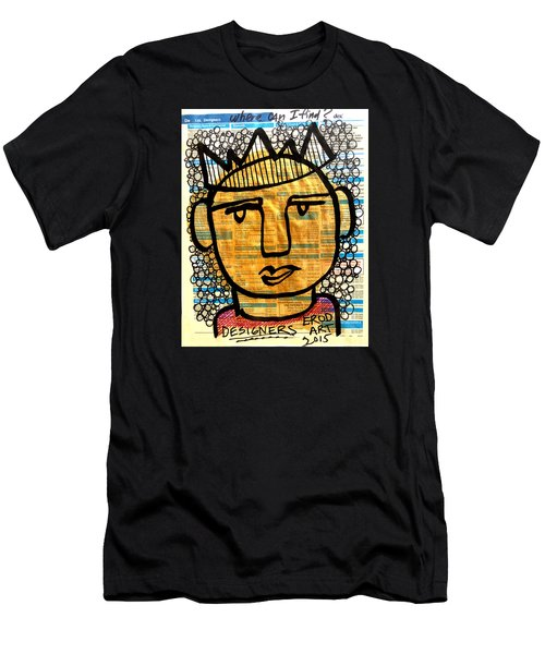 Gold King Men's T-Shirt (Athletic Fit)