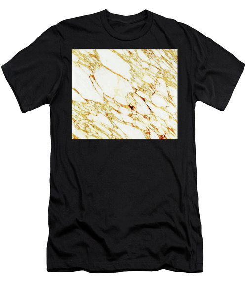 Gold Marble Men's T-Shirt (Athletic Fit)