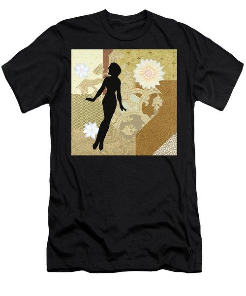 Gold Paper Doll Men's T-Shirt (Athletic Fit)