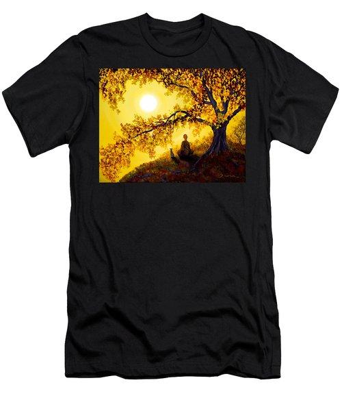 Golden Afternoon Meditation Men's T-Shirt (Athletic Fit)