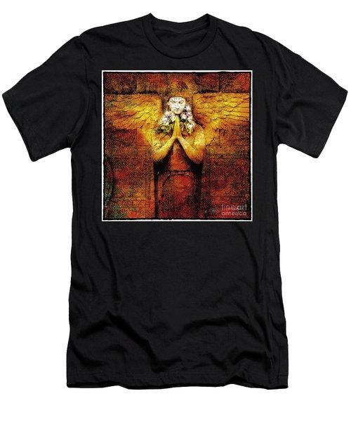 Golden Angel Men's T-Shirt (Athletic Fit)