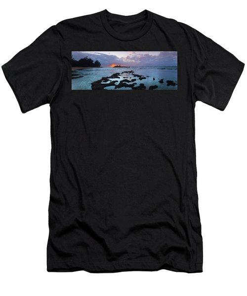 Golden Beacon Men's T-Shirt (Athletic Fit)