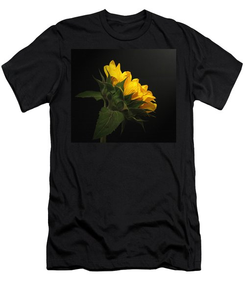 Men's T-Shirt (Slim Fit) featuring the photograph Golden Beauty by Judy Vincent