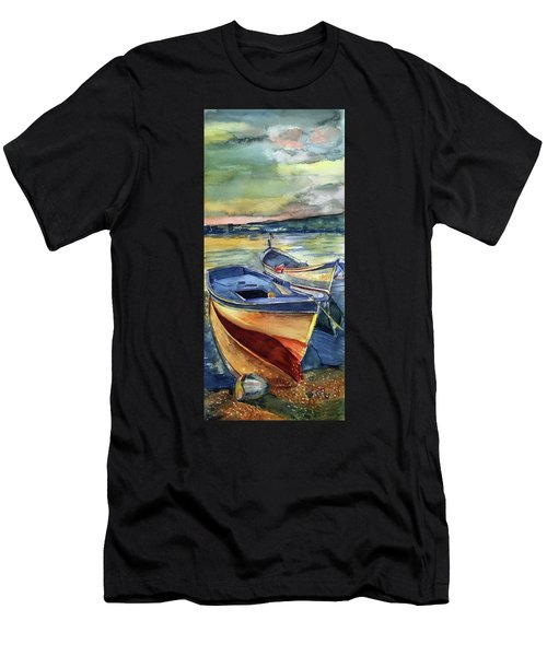 Golden Boats Men's T-Shirt (Athletic Fit)