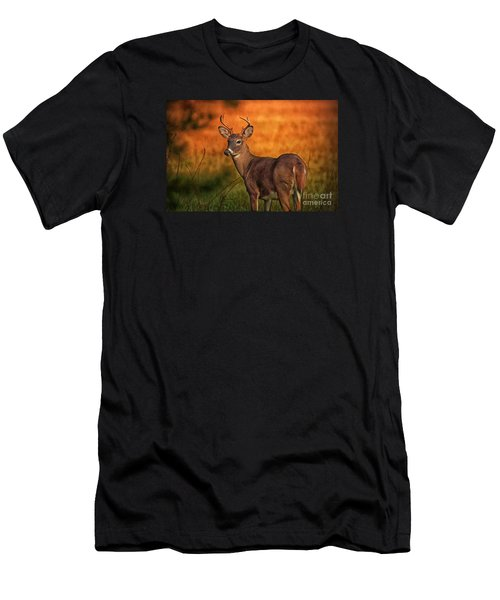 Golden Buck Men's T-Shirt (Athletic Fit)