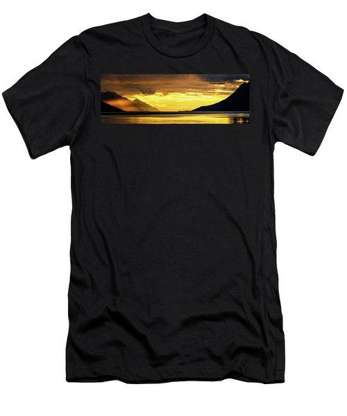 Golden Men's T-Shirt (Athletic Fit)