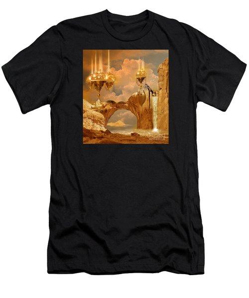 Golden City Men's T-Shirt (Athletic Fit)