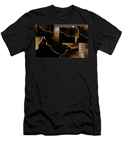 Golden Curves - Men's T-Shirt (Athletic Fit)