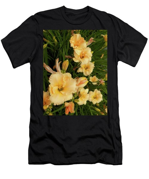 Golden Day Lilies Men's T-Shirt (Athletic Fit)