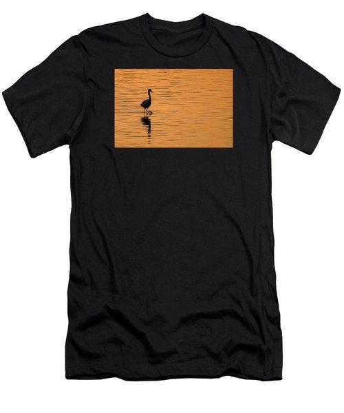 Golden Egret Men's T-Shirt (Athletic Fit)