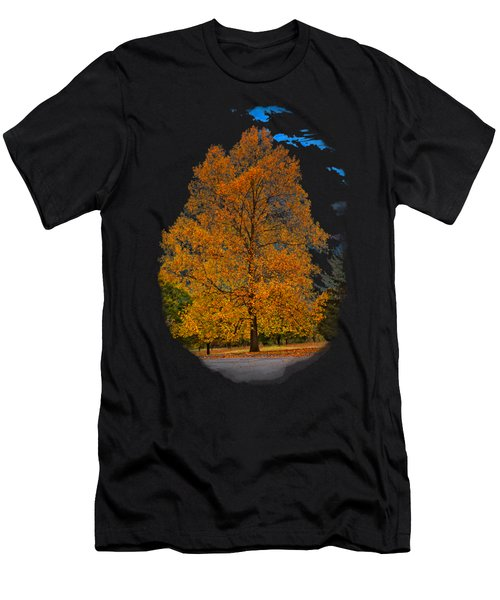 Golden Fall Colors 2 Men's T-Shirt (Athletic Fit)