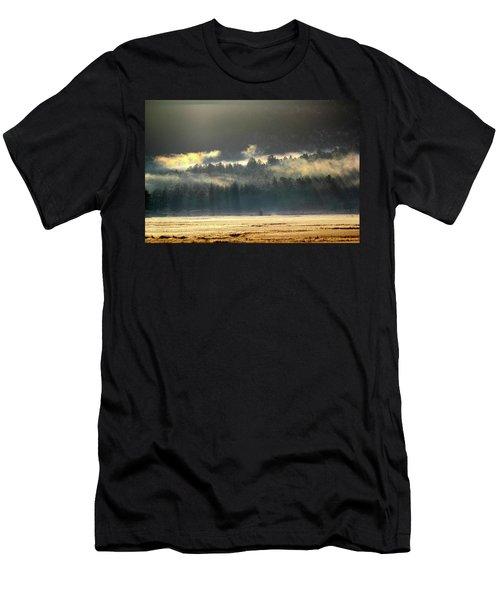 Golden Fog Men's T-Shirt (Athletic Fit)