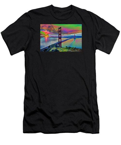 Golden Gate 1 Men's T-Shirt (Athletic Fit)