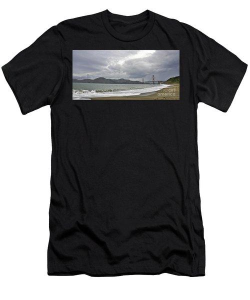 Golden Gate Study #2 Men's T-Shirt (Athletic Fit)