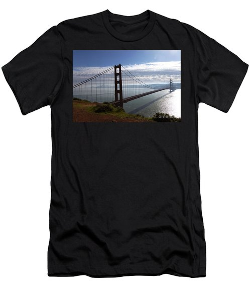 Golden Gate Bridge-2 Men's T-Shirt (Athletic Fit)