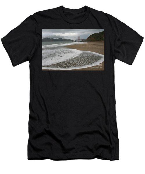 Golden Gate Study #3 Men's T-Shirt (Athletic Fit)
