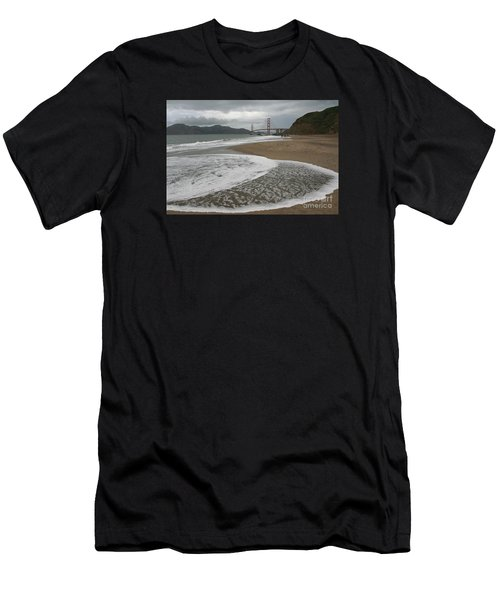 Golden Gate Study #3 Men's T-Shirt (Athletic Fit)