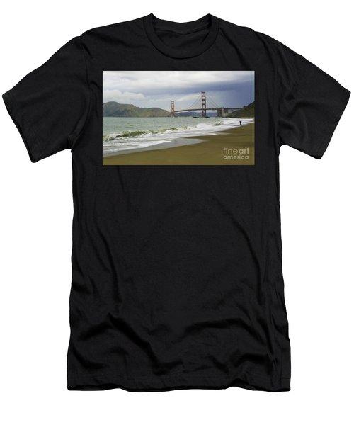 Golden Gate Bridge #4 Men's T-Shirt (Athletic Fit)