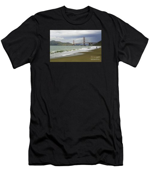 Golden Gate Bridge #4 Men's T-Shirt (Athletic Fit)