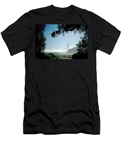 Golden Gate Fog  Men's T-Shirt (Athletic Fit)