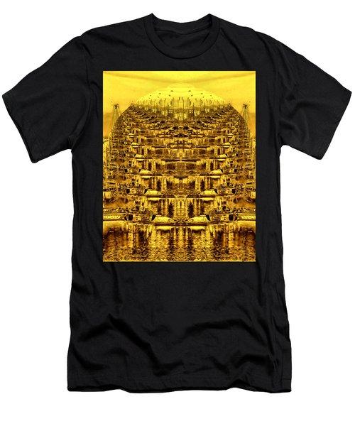 Golden Globe Men's T-Shirt (Athletic Fit)