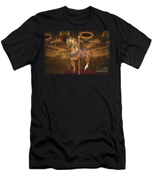 Golden Horse Men's T-Shirt (Athletic Fit)