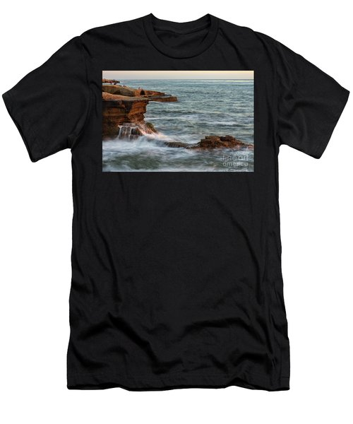 Golden Hour At Sunset Cliffs Men's T-Shirt (Athletic Fit)