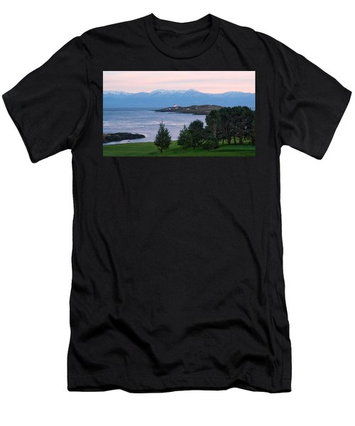 Trial Island Sunset Men's T-Shirt (Slim Fit) by Keith Boone