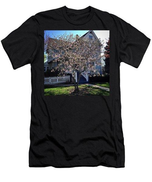 Golden Hour Magnolia   Men's T-Shirt (Athletic Fit)