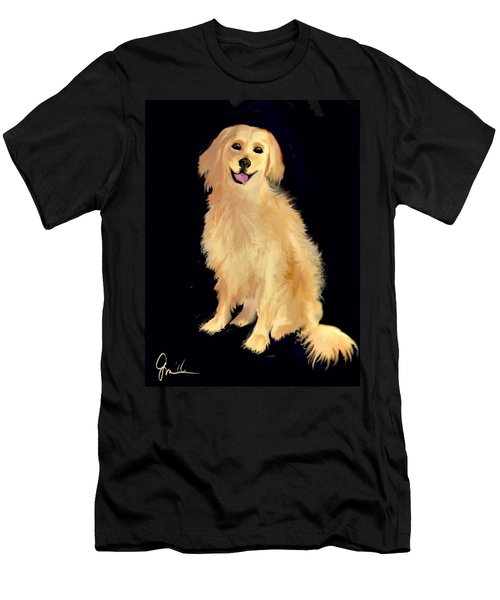 Golden Lab Men's T-Shirt (Athletic Fit)