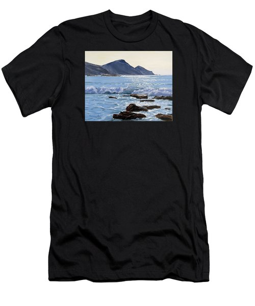 Golden Light At Crackington Haven Men's T-Shirt (Athletic Fit)