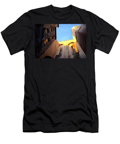Golden Light In Avignon Men's T-Shirt (Athletic Fit)