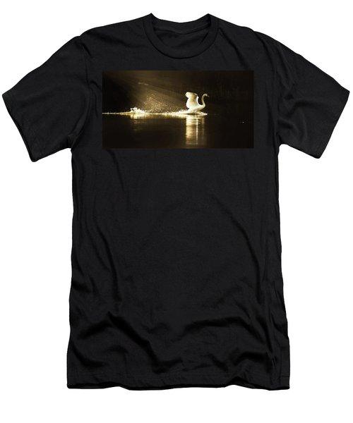 golden Light Men's T-Shirt (Athletic Fit)