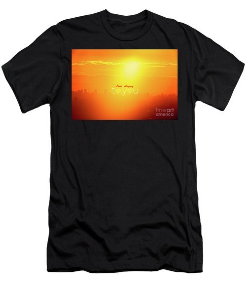 To You #002 Men's T-Shirt (Athletic Fit)