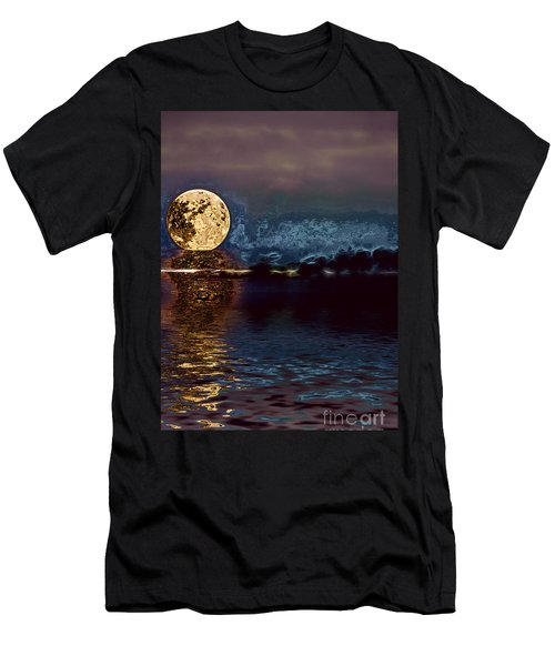 Golden Moon Men's T-Shirt (Athletic Fit)