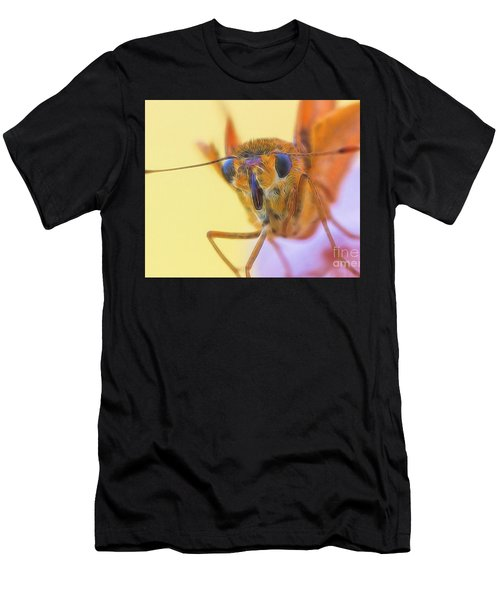 Golden Moth Men's T-Shirt (Athletic Fit)