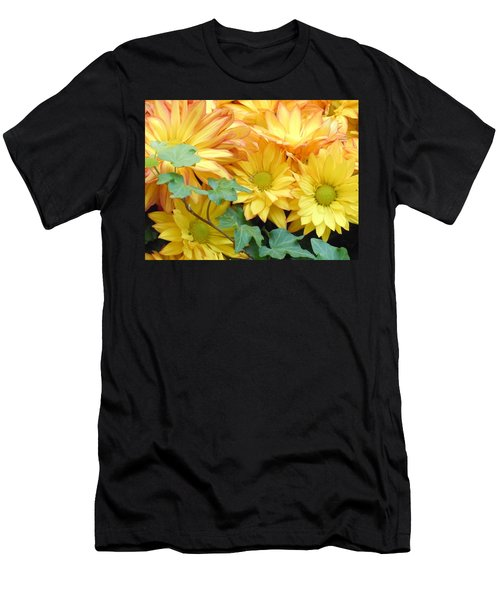 Golden Mums And Ivy Men's T-Shirt (Athletic Fit)