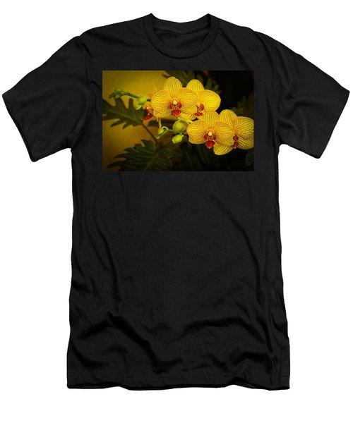Golden Orchids Men's T-Shirt (Athletic Fit)