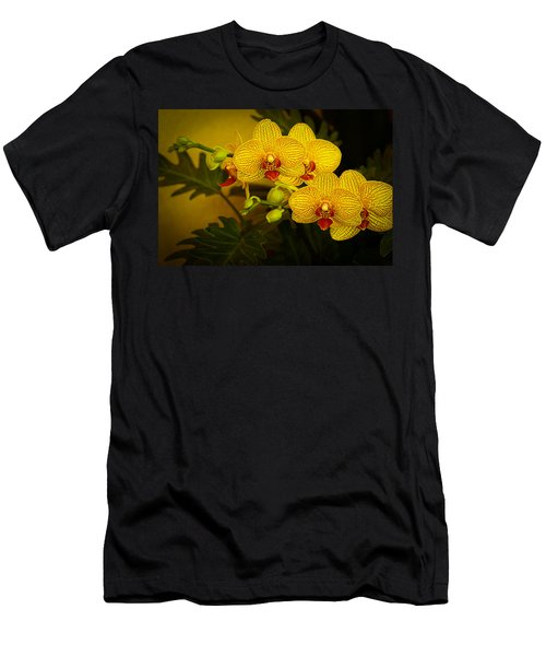 Golden Orchids Men's T-Shirt (Athletic Fit)