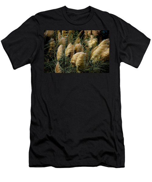 Golden Pampas In The Wind Men's T-Shirt (Athletic Fit)