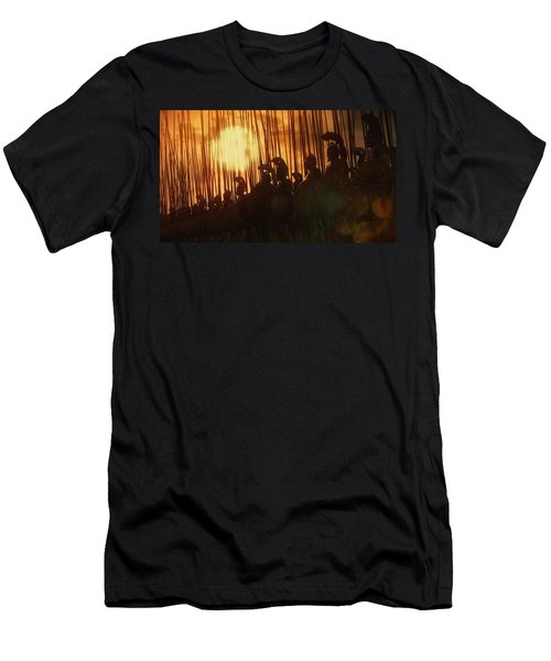 Golden Phalanx - 01  Men's T-Shirt (Athletic Fit)