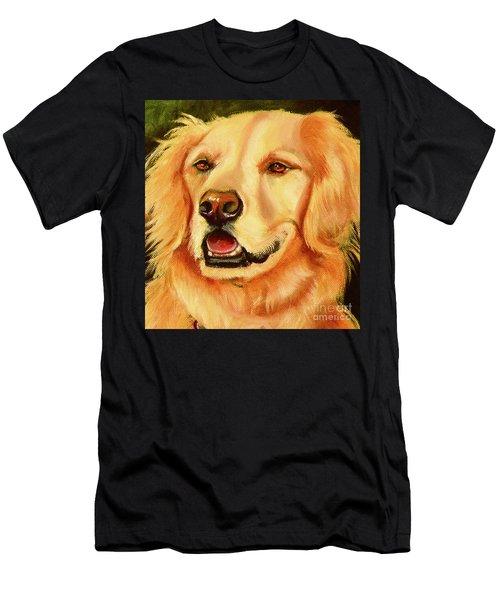 Golden Retriever Sweet As Sugar Men's T-Shirt (Athletic Fit)