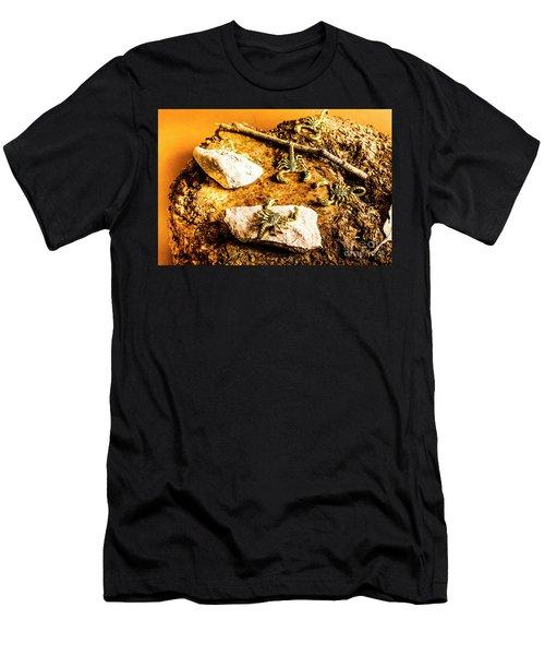 Golden Scorpion Amulets Men's T-Shirt (Athletic Fit)