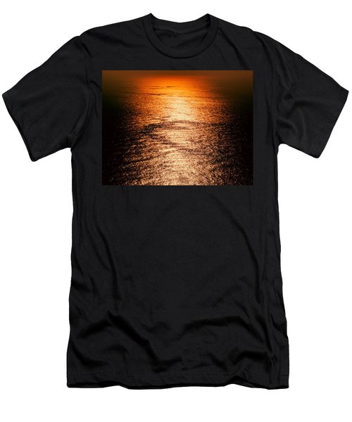 Golden Sea In Alanya Men's T-Shirt (Athletic Fit)
