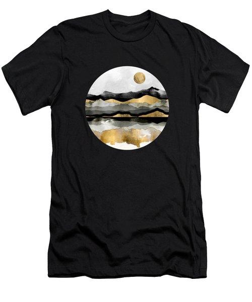 Golden Spring Moon Men's T-Shirt (Athletic Fit)