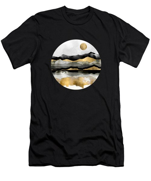 Golden Spring Moon Men's T-Shirt (Athletic Fit)
