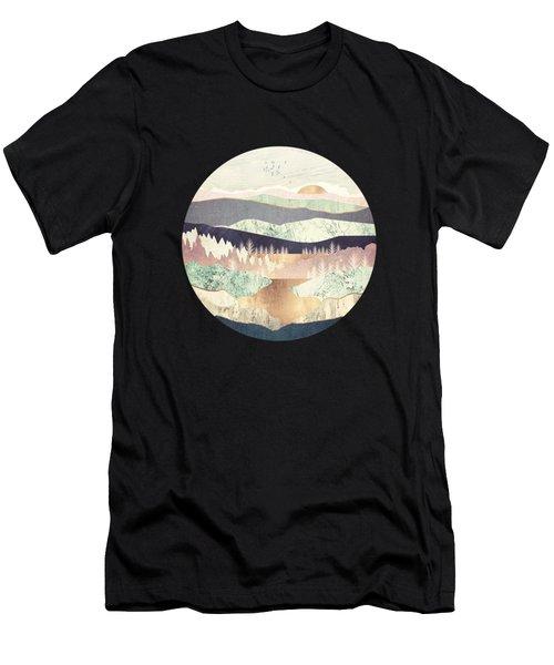 Golden Spring Reflection Men's T-Shirt (Athletic Fit)