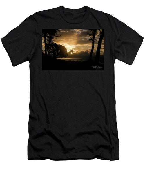 Golden Sun Men's T-Shirt (Athletic Fit)